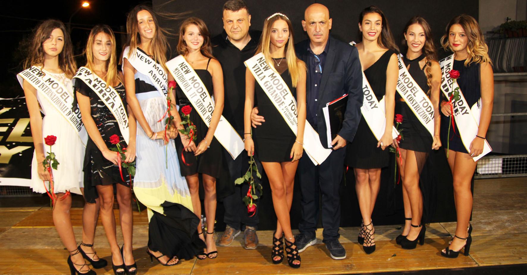 Le vincitrici del concorso
