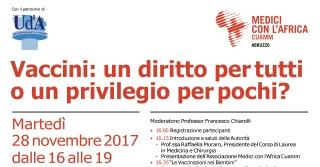 Conferenza sui vaccini
