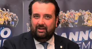 Il presidente della Divisione Calcio a cinque Andrea Montemurro